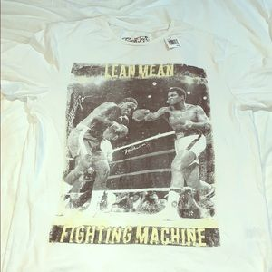 Fresh Brand tee shirt Muhammad Ali boxing fight